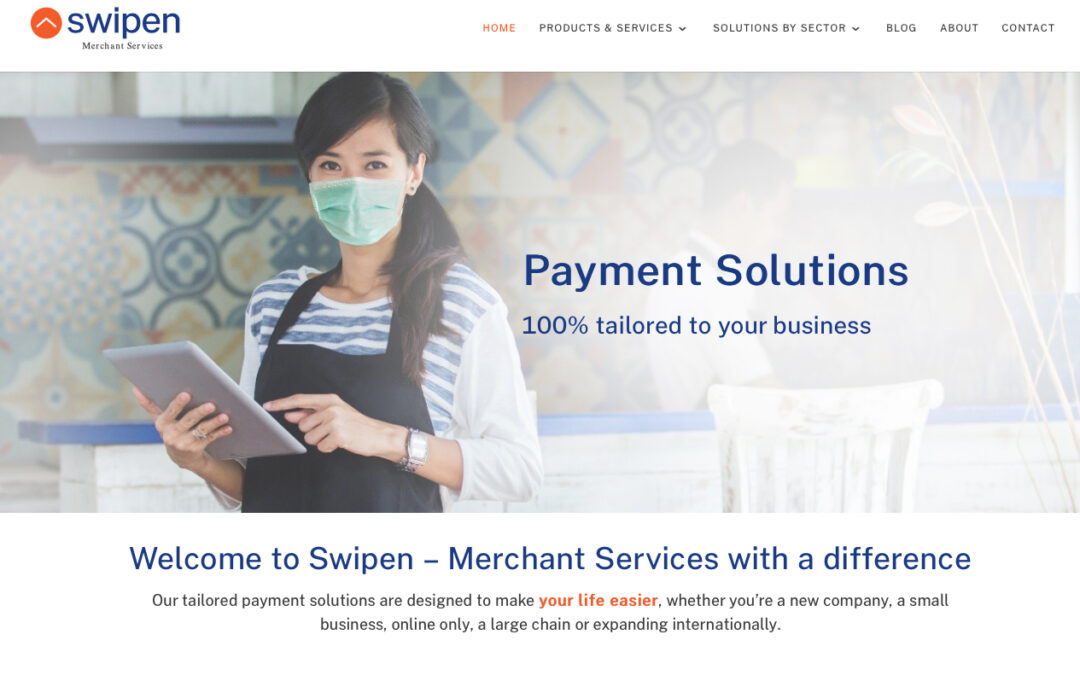 Swipen's NEW website goes live!