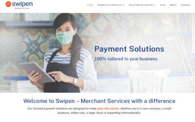 Swipen's NEW website goes live!