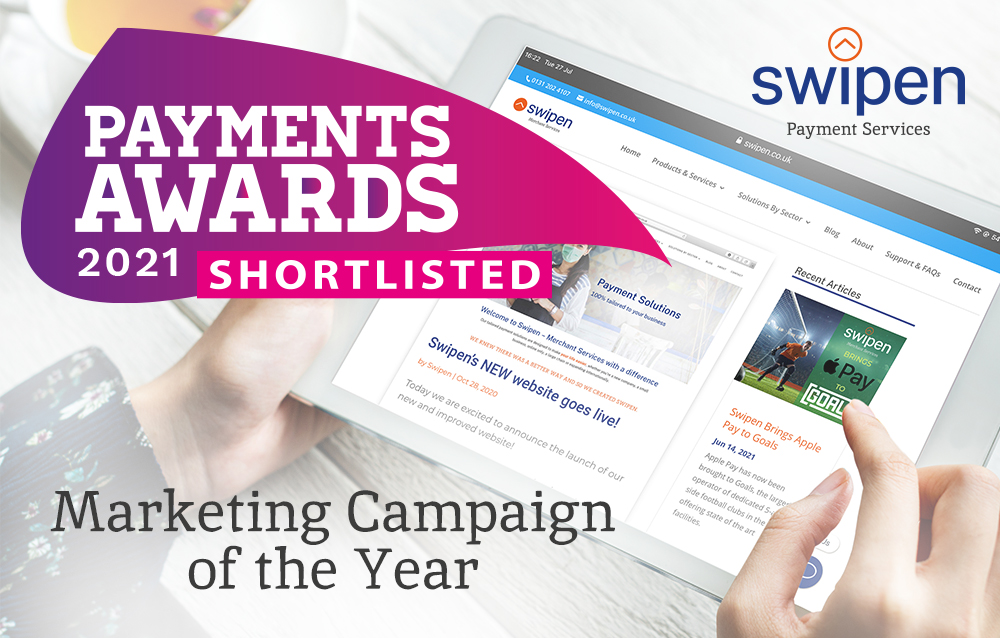 We're finalists – Marketing Campaign of the Year!