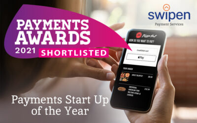 We're finalists – Payments Start Up of the Year!
